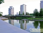 巴塞罗那对角线大道海滨公园景观设计