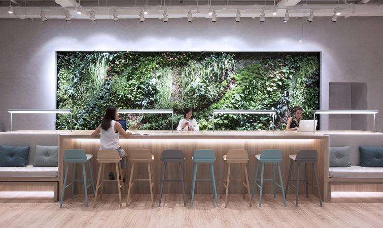 """香港的这个联合办公空间,想要提供""""酒店式""""的服务"""