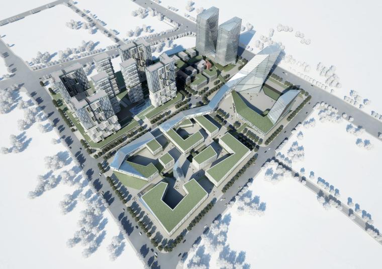 [四川]成都传媒创意园规划建筑方案文本
