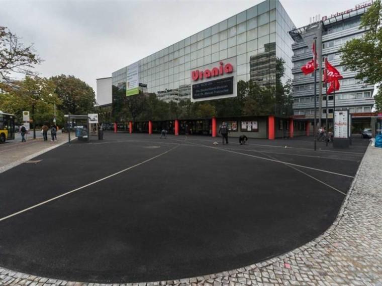 德国乌拉尼亚柏林街道广场