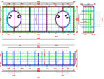 [福建]三明市积善桥水下系梁钢套箱方案(附多张模板设计图)