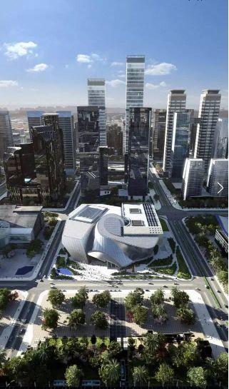 """深圳当代艺术与城市规划馆正式开馆!异型钢构打造""""异世界"""""""