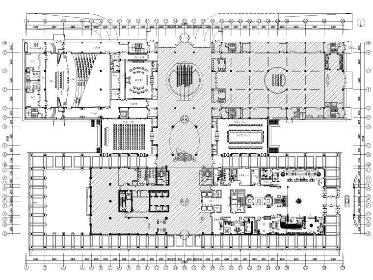 [辽宁]金螳螂—豪生国际酒店全套施工图(附设计方案+效果图)