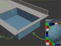 3ds max vray[Noise]贴图渲染游泳池[焦散]caustics效果