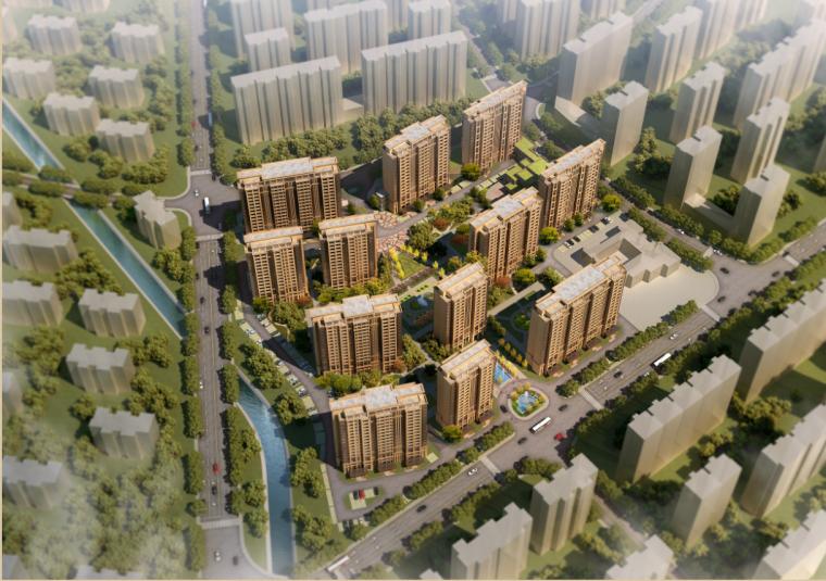 [浙江]高品质新古典风格住宅及商业建筑设计方案文本