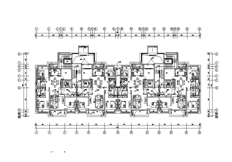 江苏南京大型商品房项目机电设备施工图