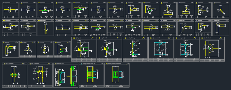 钢承板两层门式钢架厂房结构施工图_9
