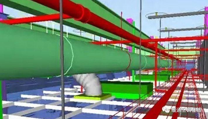 运用BIM技术进行管线综合深化设计