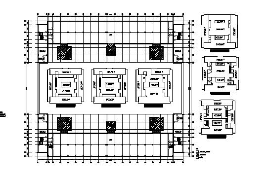 大型超市平面图合集