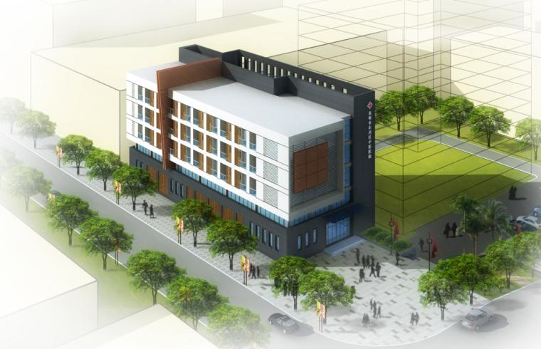 [云南]300床大型中医院建筑设计方案文本(含3套方案)