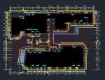 商住楼框架玻璃幕墙施工图(含计算书)