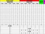 暖通水管保温支架计算表