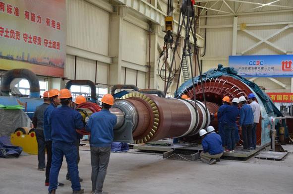 某发电厂机组发电机一期工程施工组织设计方案(电气专业)