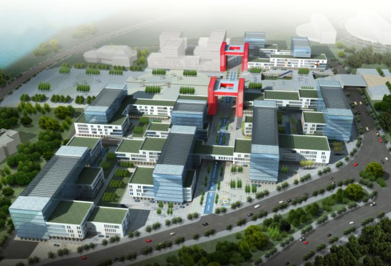 [重庆]万州文化创意产业园建筑概念设计方案文本