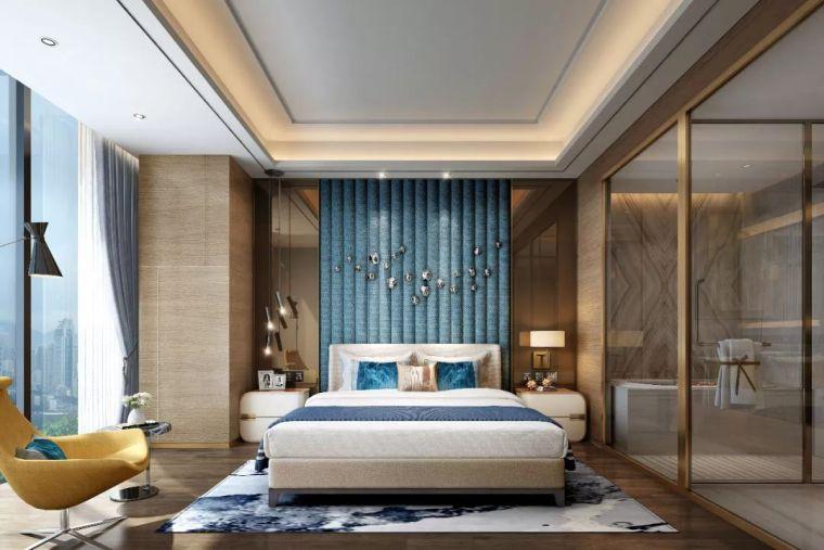 卧室背景墙别放空,这样设计美极了!_16