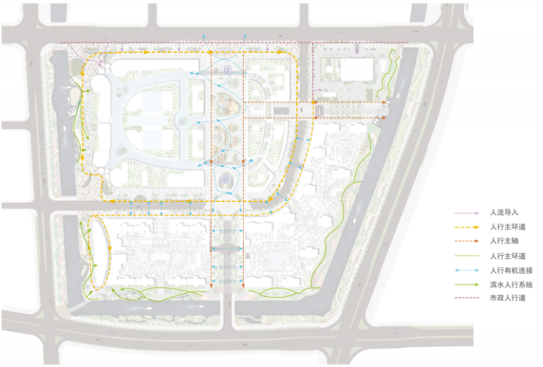 [浙江]宁波银泰匯城市规划景观概念性设计(现代风格)_10