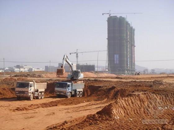 [江苏]城市道路改造工程土方开挖施工方案