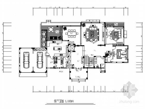 [原创]大气个性三层别墅施工图(含高清效果图)