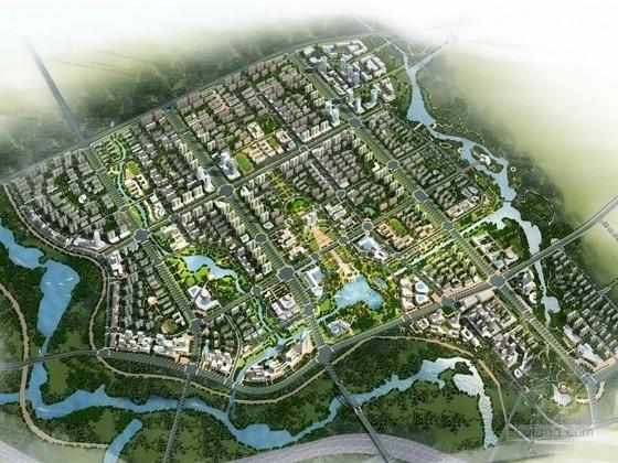 [安徽]地标性山水特色城市公共服务中心景观规划设计方案