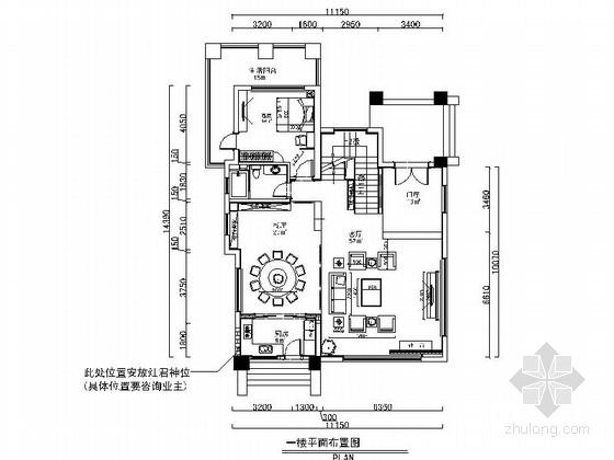 [广东]精品现代风格三层别墅豪宅室内装修施工图