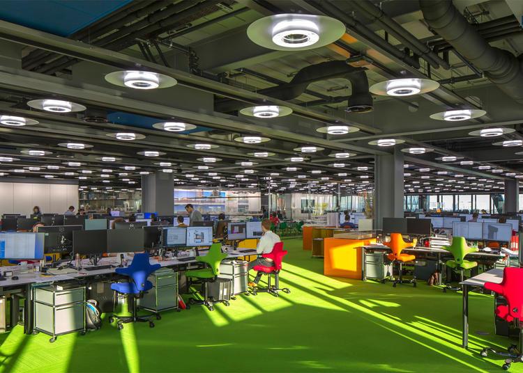 建筑师给自己设计的办公室,什么样的都有_3
