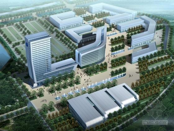 [上海]现代风格办公区规划设计方案文本(含cad,ppt,知名大学设计)