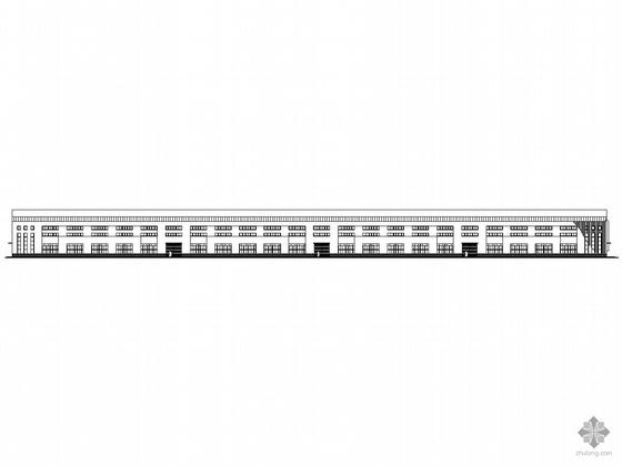 [合肥]某工业园区电气公司钢结构厂房建筑施工套图(1、2、3号厂房)