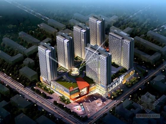 [辽宁]商业及住宅综合体地块规划设计方案文本