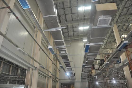[QC成果]高大工业厂房悬吊风管支吊架施工技术研究