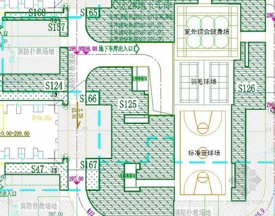 2013年住宅社区园林绿化景观工程设计招标文件(含图)