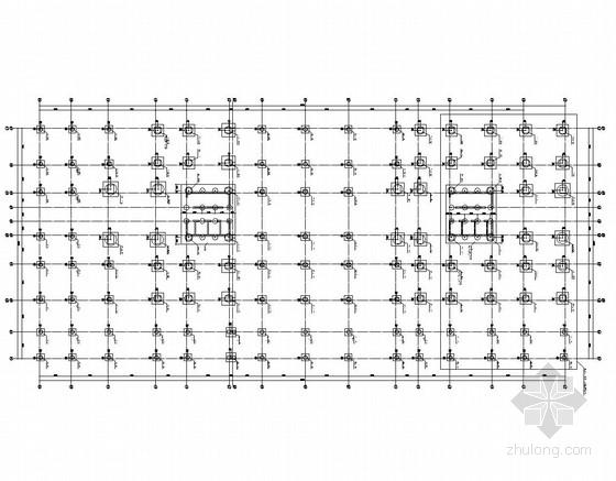 [广东]高层办公楼钻孔灌注桩基础施工图