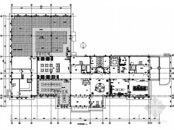 [内蒙]高级现代风格母婴会所室内装修施工图(含实景)