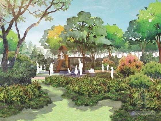 [武汉]生态型小区中心绿地景观规划设计方案