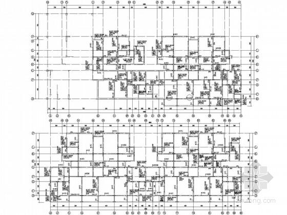 [四川]12层短肢剪力墙住宅结构施工图