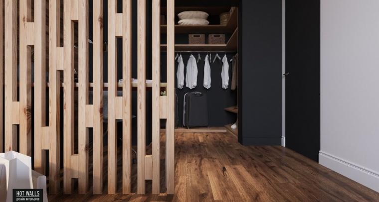 俄罗斯:木质与黑色调营造温暖酷炫的居家氛围_11
