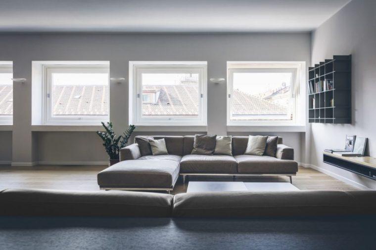 米兰:简洁淡雅的现代公寓_2