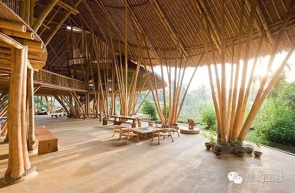 景观设计中的竹建筑案例浅析——巴厘岛上的竹子学校_4