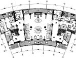 牧笛设计-万科上海翡翠滨江二期售楼处设计施工图