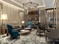 HBA--上海华发闸北销售中心售楼部室内深化设计方案文本
