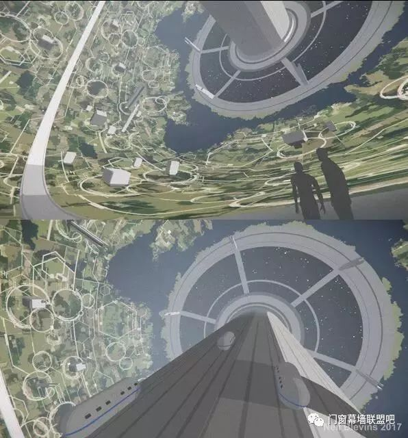 5万米高的建筑从天而降?!已有详细设计方案,施工能否实现全靠_46