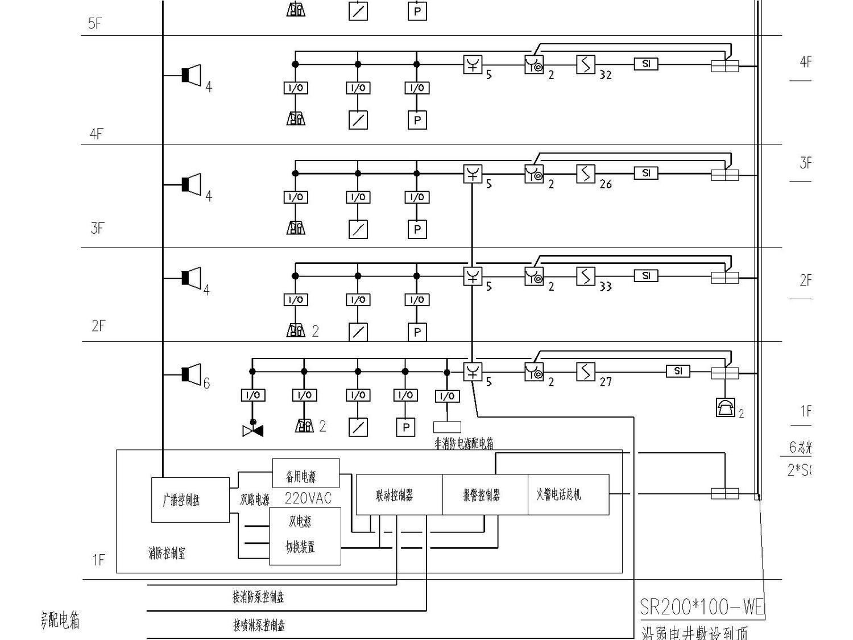 某医院电气强弱电施工图(包括护理呼应信号系统图)_3
