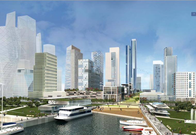 [天津]现代风格大型城市规划建筑设计方案文本