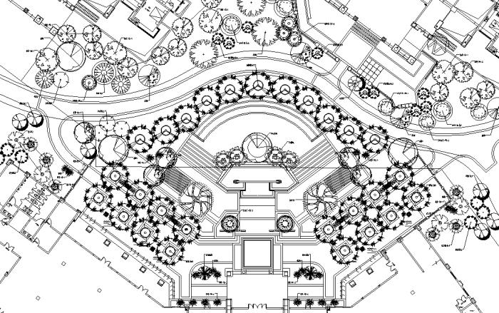[四川]四季花海社区公园景观规划设计全套施工图