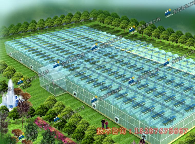 温室大棚设计图_2