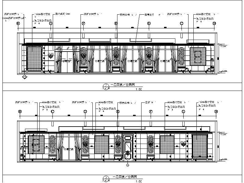 知名高尔夫球会所设计施工图_2