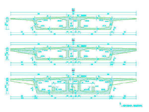 [分享]两跨桥梁设计图资料下载湖南省设计院设计图片