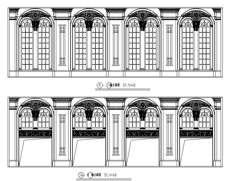 【重庆】现代奢华国际大酒店设计施工图(附效果图)_3