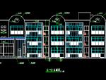 3层框架2607.33平米幼儿园建筑施工图设计图带1JPG外观效果图