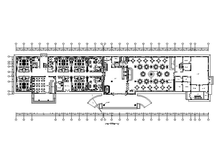 整套现代风格五星级酒店设计CAD施工图