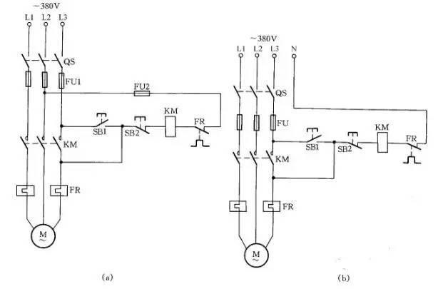 12种常用的电气设备接线图_12